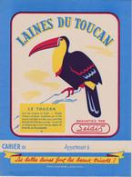 """L T /Buvard   """"Laine Du Toucan""""   (N= 1) - Book Covers"""