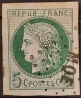 Emissions Générales 1872/77 N°17 Ob SUPERBE - Ceres
