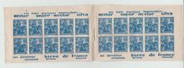 Carnet N°257-C2 Avec 20 Timbres De Jeanne D'arc Pub Brasserie De Champigneulles (Timbres Neufs Collés Sur La Couverture) - Reclame