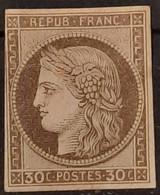 Emissions Générales 1872/77 N°20 Légèrement Touché En Haut à Gauche * B Cote 165€ - Ceres