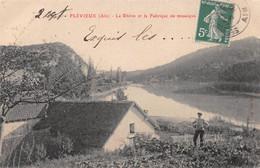 FLEVIEU (Flévieux) - Le Rhône Et La Fabrique De Mosaïque - Philatélie Cachet En Pointillés Saint-Sorlin - Autres Communes