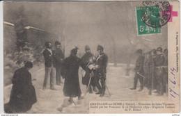 CHATILLON SUR SEINE EXECUTION DE LEON VIGNERON FUSILLE PAR LES PRUSSIENS LE 19 DECEMBRE 1870 TBE - Chatillon Sur Seine