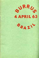 Auction Catalogue - Brazil - Robson Lowe 4 Apr 1963 - The Burrus Coll - Cat Only - Other