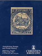 Auction Catalogue - Australasia - Christie's Robson Lowe 10 May 1991 Thomas L Belknap  L J Tyler Collections - Other