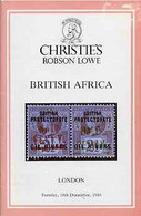 Auction Catalogue - British Africa - Christie's Robson Lowe 18 Dec 1984 - With Prices Realised - Other