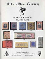 Auction Catalogue - Bermuda & Falklands - Victoria Stamp Co 20-21 Mar 1995 - Cat Only - Other
