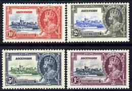 Ascension 1935 KG5 Silver Jubilee Set Of 4 Mounted Mint, SG 31-34 - Autres