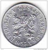 Tschechoslowakei- Tchécoslovaquie 3 Halier, Haler 1953 - Tschechoslowakei