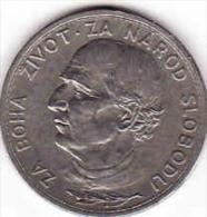 Slowakei-SLOVAKIA. 5 Kronen- KORUN - Coronas 1939, Nickel, Andrej Hlinka - Slovakia