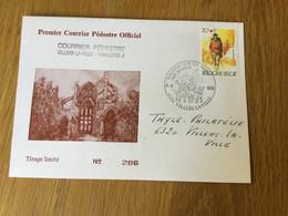 Belgique : N°2083 (marche) Sur Courrier Pédestre Villers-la-Ville - Charleroi - Covers & Documents