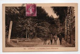 - CPA LEMBACH (67) - La Frontière Franco-Allemande 1936 (avec Douaniers) - Editions La Cigogne 160 - - Other Municipalities