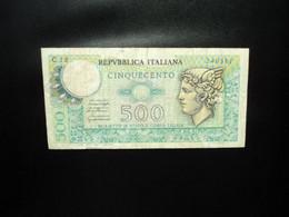 ITALIE : 500 LIRE   20-12-1976    C.I.25 BS 63 / P 95     TTB * - 500 Liras