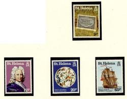 Sainte Hélène - Saint Helena - Iles Britanniques 1986 Y&T N°443 à 446 - Michel N°446 à 449 *** - Comète Halley - St. Helena