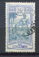 OCEANIE- Yt.  N°  28  (o)   25c   Tahitiens  Cote  1,4 Euro  BE - Used Stamps