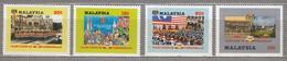 MALAYSIA 1982 Flags Coat Of Arms  MNH(**) Mi 241-244 #27553 - Malaysia (1964-...)
