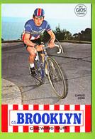 Carlo ZONI . Cyclisme. 2 Scans.  Brooklyn - Ciclismo