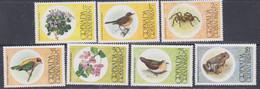 Grenadines N° 132 / 38  XX  Faune Et Flore, Les 7 Valeurs Sans Charnière, TB - America (Other)
