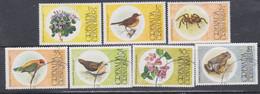Grenadines N° 132 / 38  X, O  Faune Et Flore, Les 7 Valeurs Trace De Charnière Ou Oblitérées, TB - America (Other)