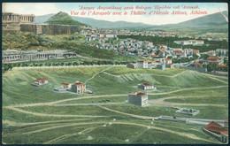 Greece Athens Acropolis Theatre Herodes UNUSED - Grecia