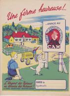 """C C A/ Protège-cahiers """"Crédit Agricole"""" (N=2) Différent - Book Covers"""