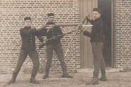ABL, 4e De Ligne , 1 Photo + 1 Photo Avec Mauser + Baïonnette - Unclassified