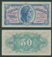 España 1937 - Billete 50 Céntimos - Serie C - República Española - Other