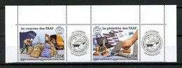 TAAF 2020  N° 933/934 ** Neufs MNH Superbes Courrier Et Philatélie Des TAAF Bateau Voiture Ships - Ungebraucht