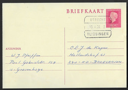 Blokstempel: Utrecht-Vlissingen - Laatste Dag - Storia Postale