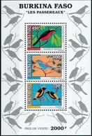 BURKINA FASO 1995 BIRDS - Burkina Faso (1984-...)