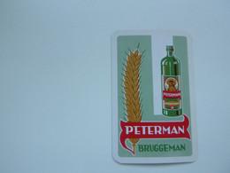 Speelkaart ( 0868 ) Dos D' Une Carte à Jouer  + JOKER  - Wijn Vin Likeur Liqueur  Distillerie Stokerij  -  PETERMAN - Barajas De Naipe
