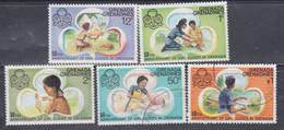 Grenadines N° 146 / 50 X, O  50è Anniversaire Des Guides De Grenade, Les 5 Valeurs  Trace De Charnière Ou Oblitérées, TB - America (Other)