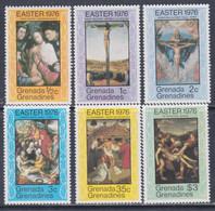 Grenadines N° 151 / 56  XX Pâques : Tableaux De Maîtres, Les 6 Valeurs  Sans Charnière, TB - America (Other)
