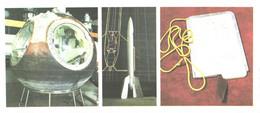 Space Ship Vostok-5, First Soviet Rocket GIRD-09, Gagarin Space Ship Book, 1984 - Space