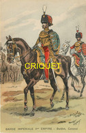 Illustrateur Toussaint, Garde Impériale IIème Empire, Guides, Colonel, N° 436 - Andere Zeichner