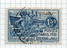 APR1656 - COTE COSTA SOMALIS 1931 , Yvert N. 140 Usato.. Paris - Gebruikt