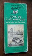Michelin Guide Côte De L'atlantique De La Loire Aux Pyrenees - Michelin (guide)