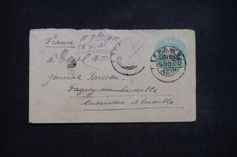 INDE - Entier Postal ( Enveloppe ) Type Victoria Pour La France En 1900 , Complément Disparu - L 96915 - 1882-1901 Empire