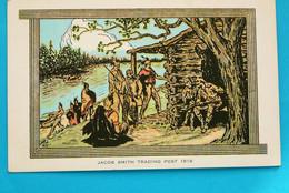 87 - INDIENS - JACOB SMITH TRADING POST 1819 - AVEC LEGENDE - Indiaans (Noord-Amerikaans)