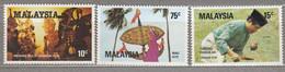 MALAYSIA 1982 Art MNH(**) Mi 245-247 #27560 - Malaysia (1964-...)