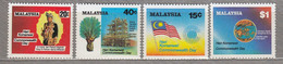 MALAYSIA 1983 Commonwealth Day Flag MNH(**) Mi 254-257 #27561 - Malaysia (1964-...)