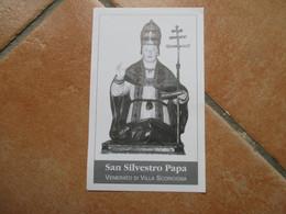 Immagine Sacra S.Silvestro Papa Venerato Di Villa Scorciosa Fossacesia Chieti - Devotion Images