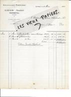 88 - Vosges - GERBEPAL - Facture GROS - Exploitations Forestières - 1933 - REF 187A - 1900 – 1949
