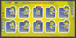 Soccer / Football / Fussball - WM 2010:  Südafrika  Bogen ** - 2010 – África Del Sur