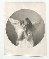 Photographie Enfant Gracieux En Ange  Photo 9x11 Cm Env - Antiche (ante 1900)