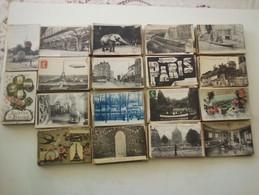 LOT DE 850 CARTES POSTALES ANCIENNES DE PARIS - 500 Postcards Min.