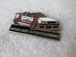 PIN'S AUDI ANTAR SUPERTOURISME Zamak EBC Argenté - Audi