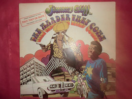 LP33 N°8737 - THE HARDER THEY COME - JIMMY CLIFF - 9123 016 - PG 210 - MADE IN FRANCE - Reggae