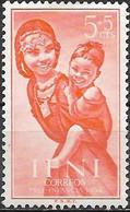 IFNI 1954 Child Welfare - 5c.+5c - Woman And Child MH - Ifni