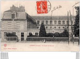 GUERET LE LYCEE DE GARCONS 1909 TBE - Guéret