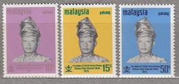 MALAYSIA PAHANG 1975 Famous People MNH(**) Mi 90-92 #27563 - Malaysia (1964-...)